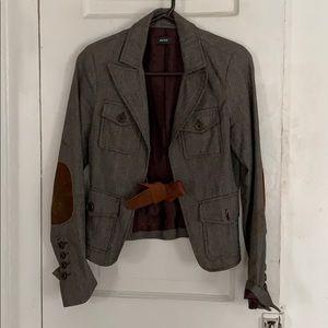 Vintage blazer w elbow patches